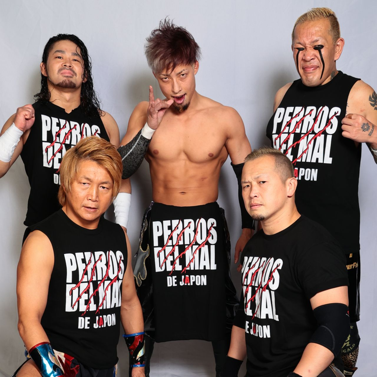 Los Perros del Mal Japón NOAH luchadores