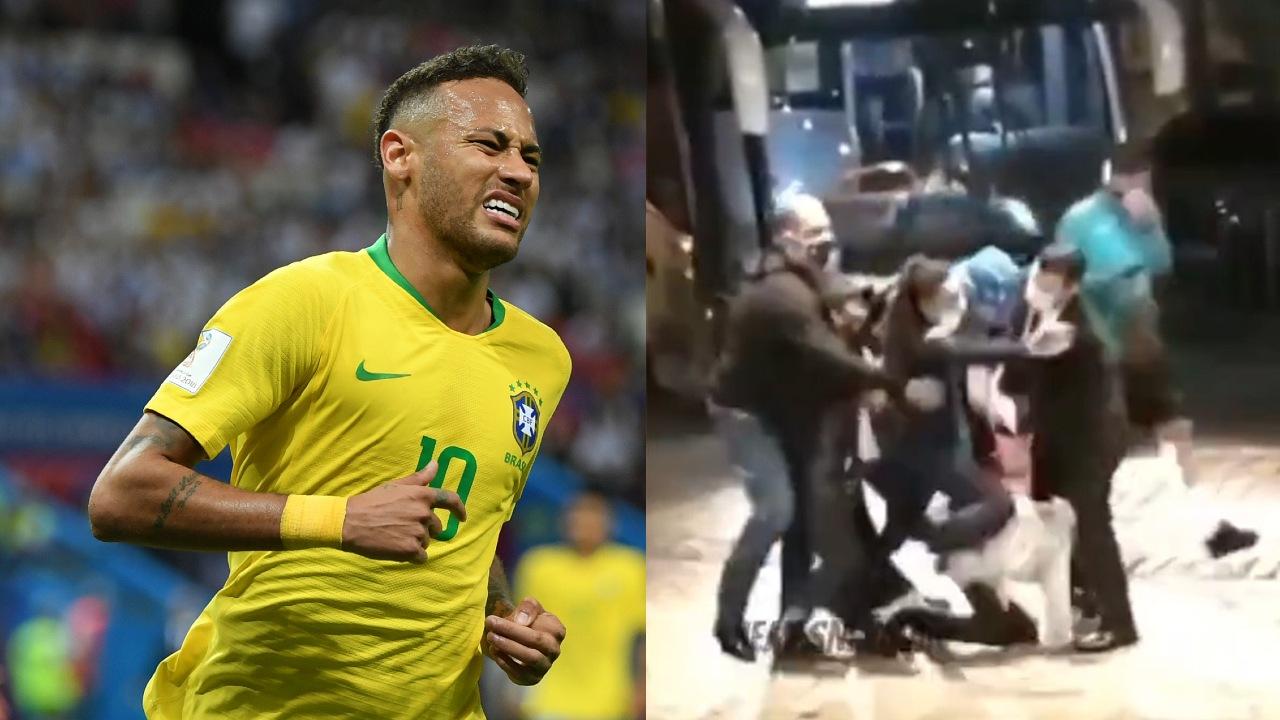 Neymar aficionados seguridad Brasil