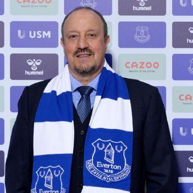 Rafa Benítez Everton técnico