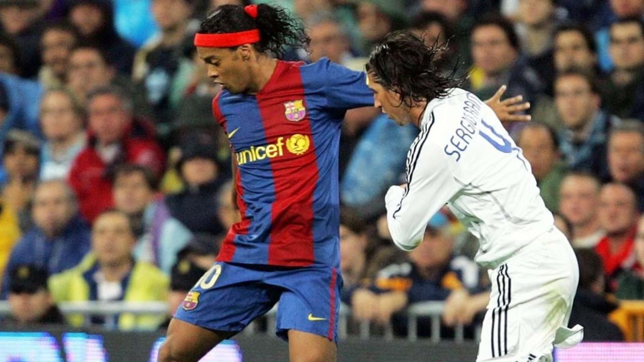 Ronaldinho Sergio Ramos Real Madrid Twitter