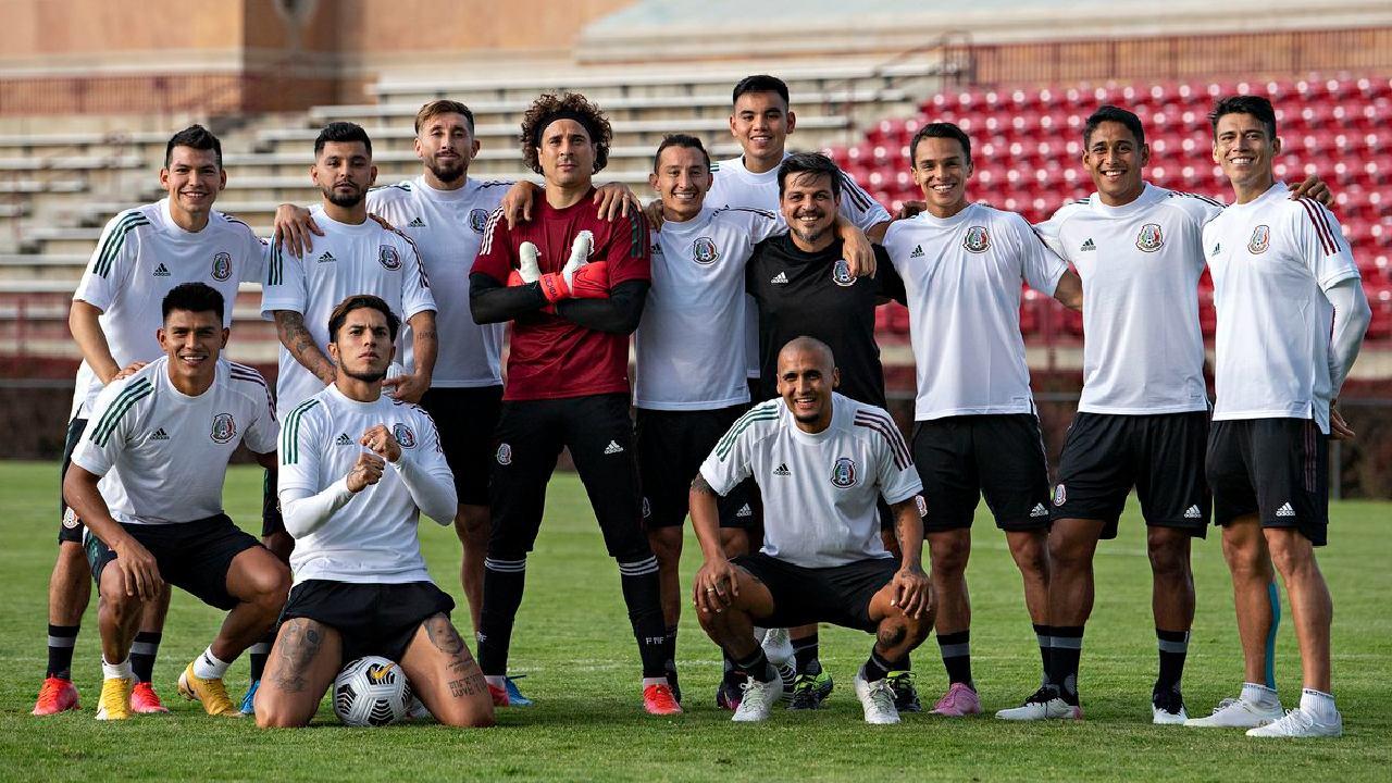 Selección Mexicana revela su alineación para la final de la CONCACAF Nations League