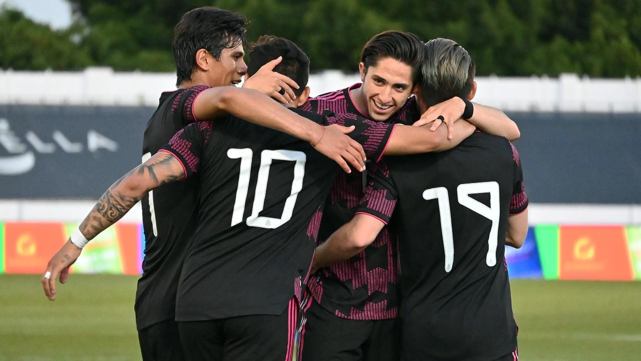 Selección Olímpica Mexicana revela su alineación para enfrentar a Arabia Saudita