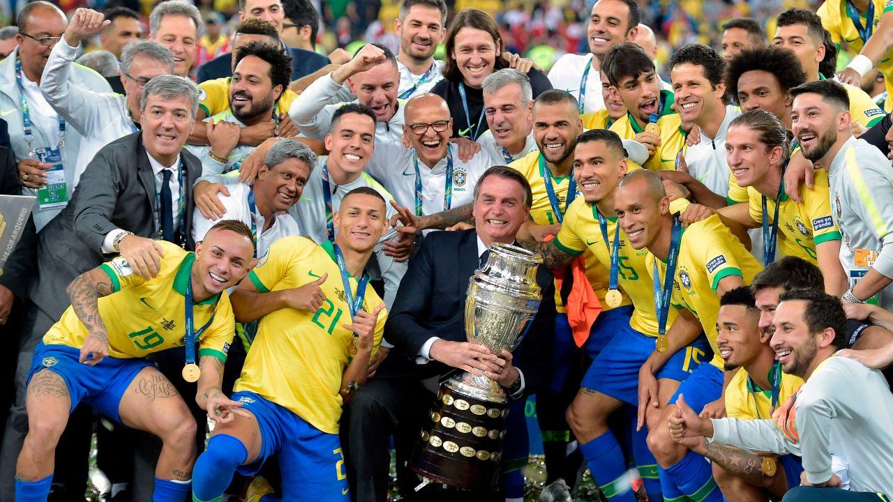 Brasil inauguración Copa AMérica