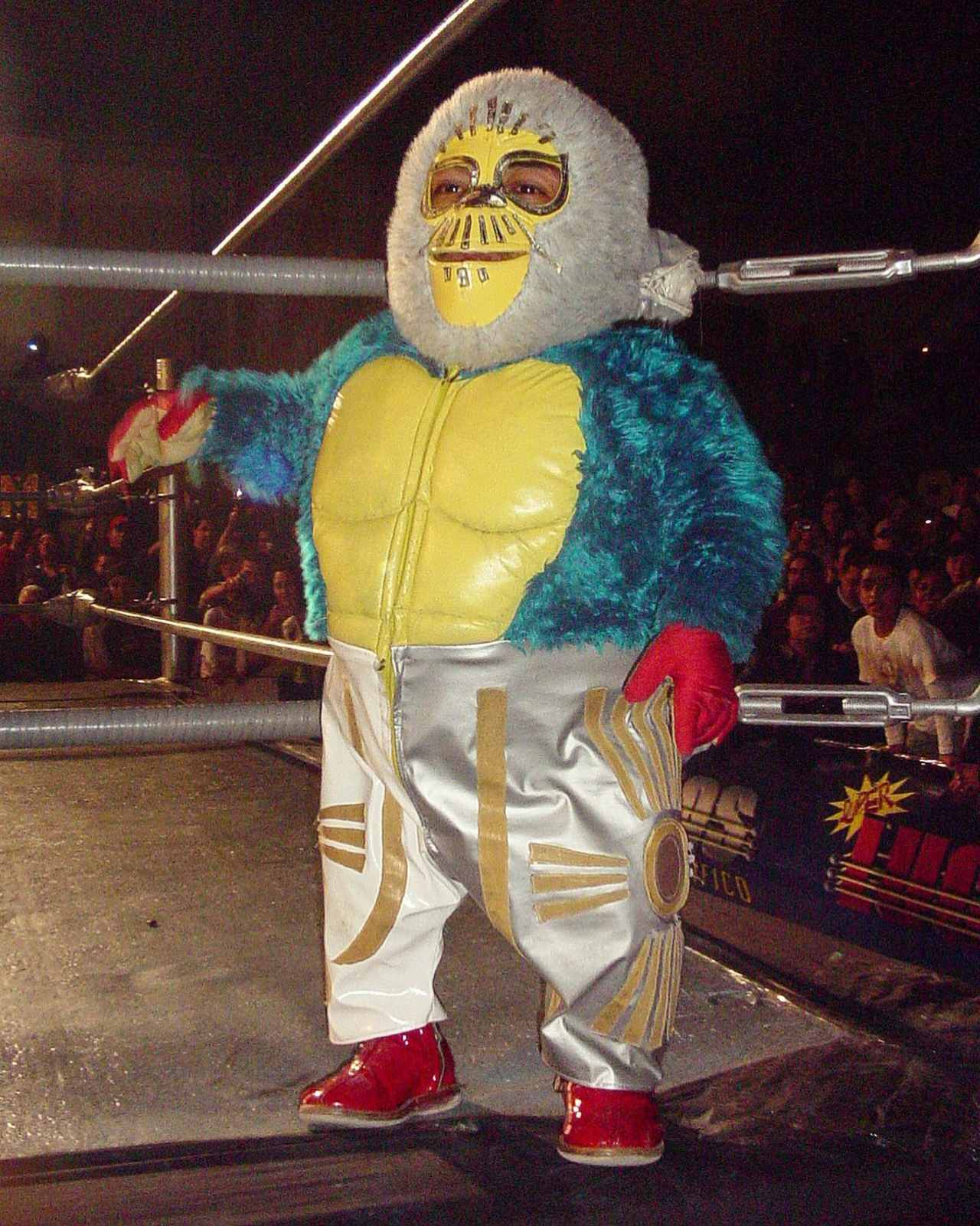 kemonito luchador mistico mascaras luchas