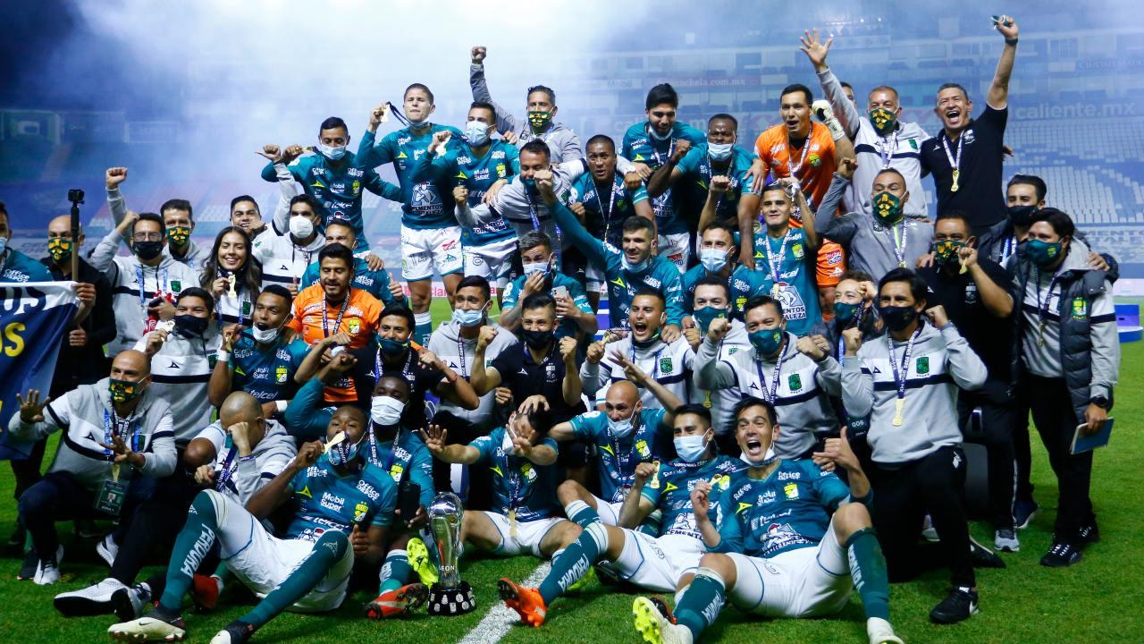 Cruz Azul vs León liga bbva mx campeon de campeones