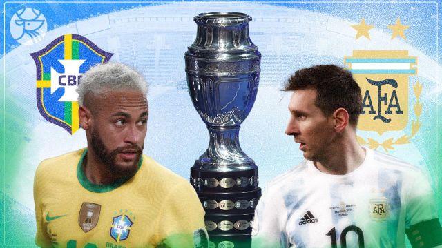 ¿A qué hora ver la final de la Copa América 2021 entre Brasil y Argentina?