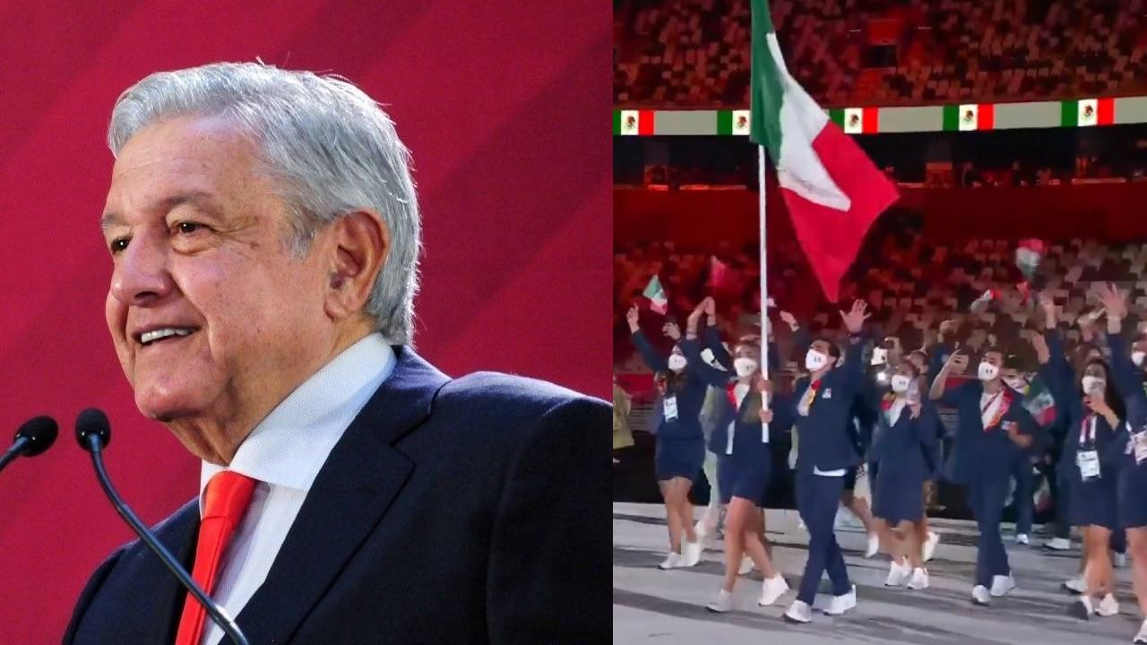Tokyo 2020 amlo delegación mexicana mexico atletas