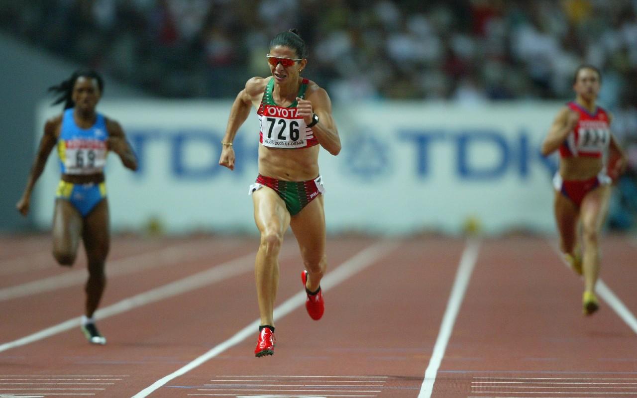 Ana Guevara Campeonato Mundial 2003