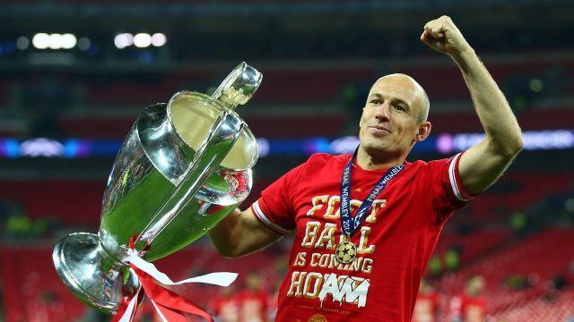 Arjen Robben holanda bayern bben retiro