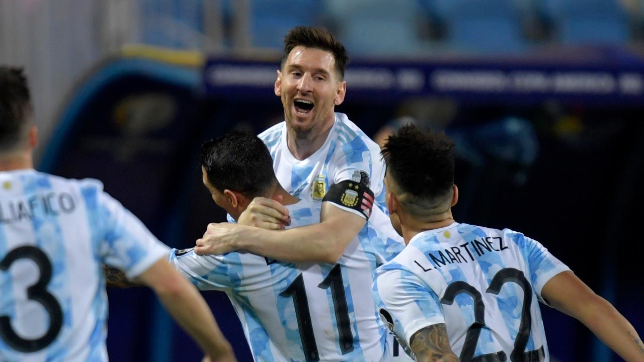 Copa América Argentina elimina Ecuador