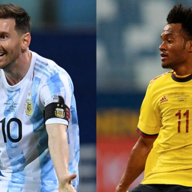 ¿A que hora juegan Argentina vs. Colombia