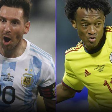 Copa América 2021: Argentina y Colombia revelan sus alineaciones para la semifinal