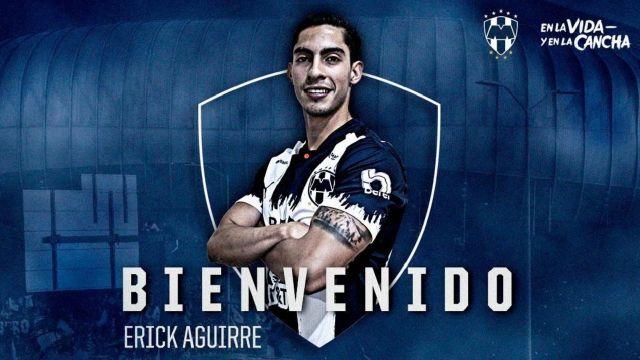 Rayados Monterrey Erick Aguirre