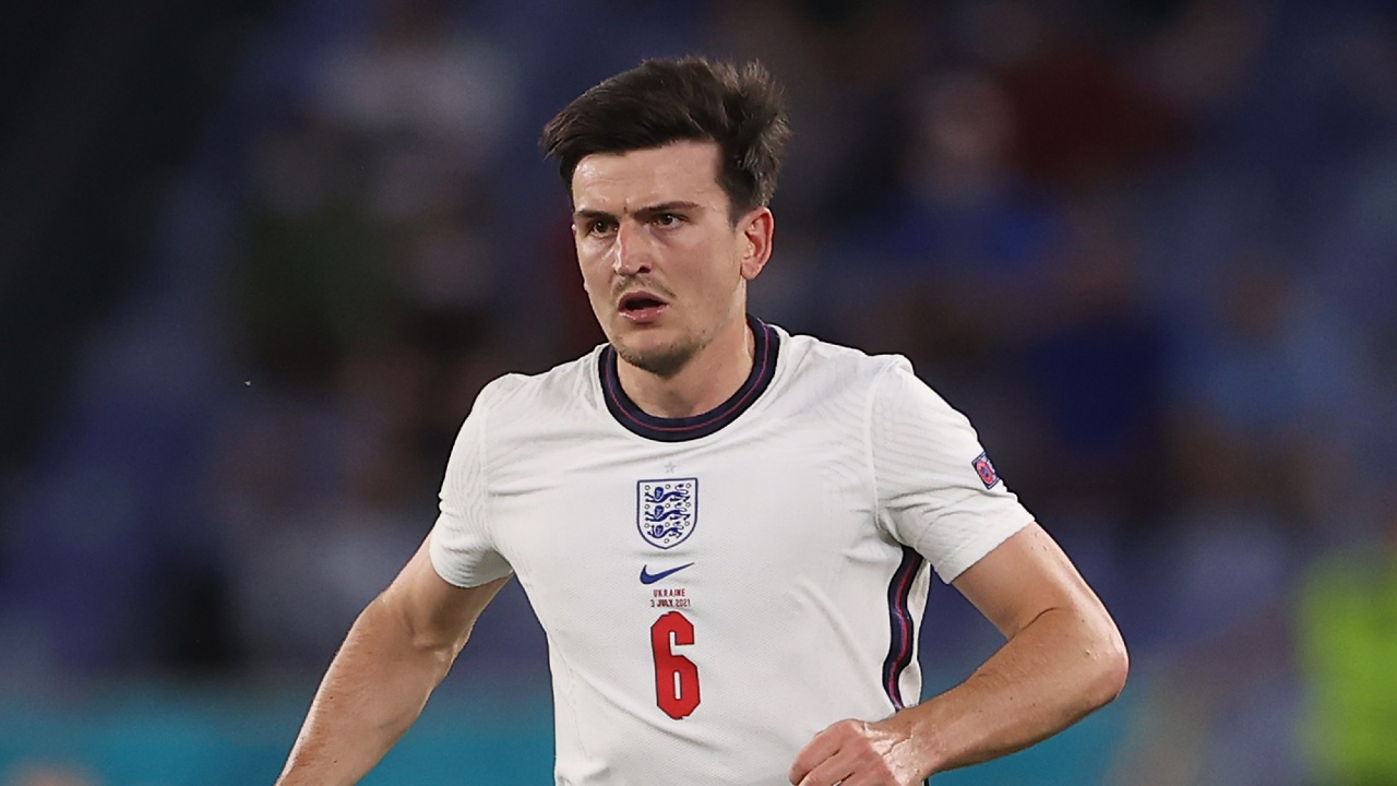 Harry Maguire Eurocopa 2020 padre