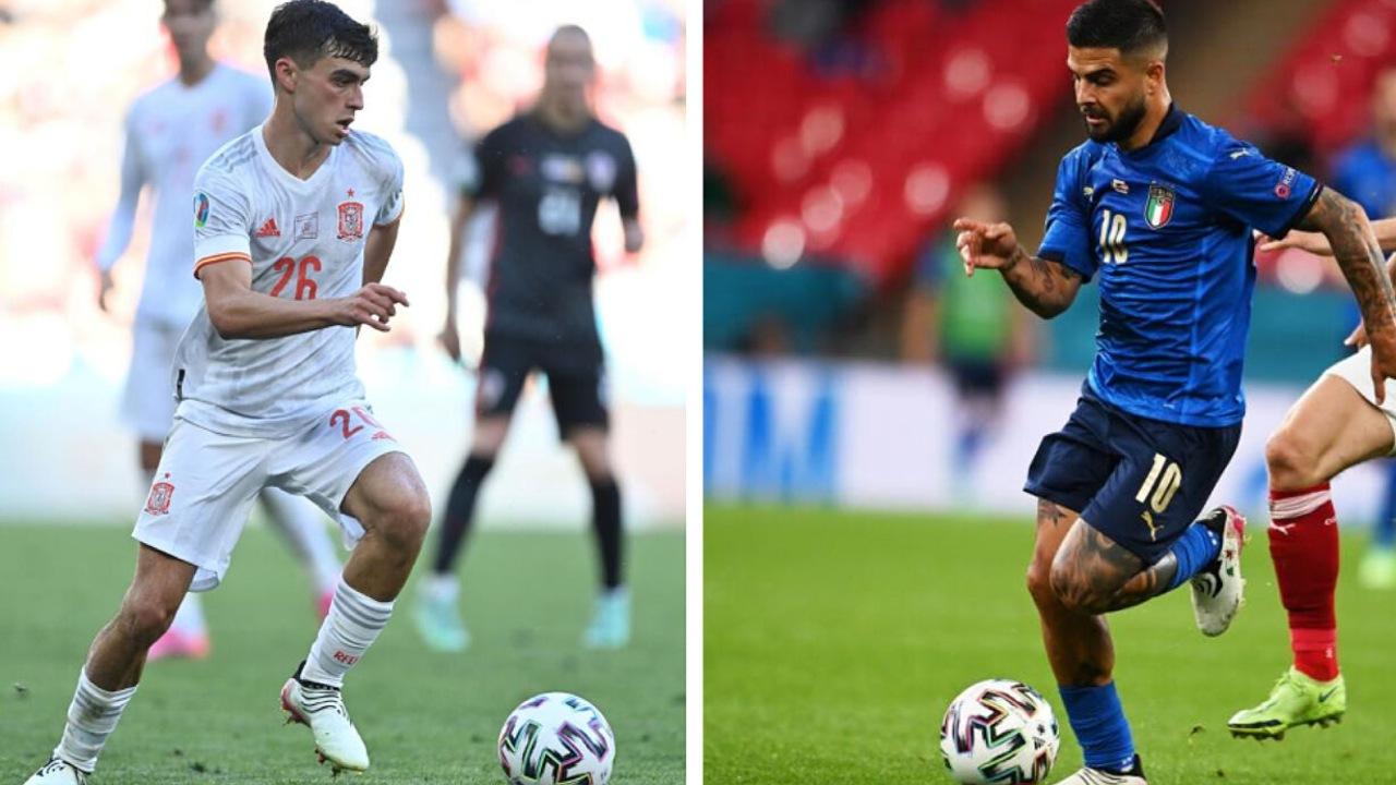 Eurocopa 2021: Italia y España revelan sus alineaciones para la semifinal