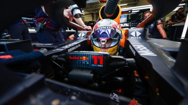 Checo Pérez saldrá tercero en el GP de Austria