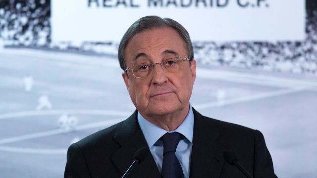Florentino Pérez responde audios filtrados