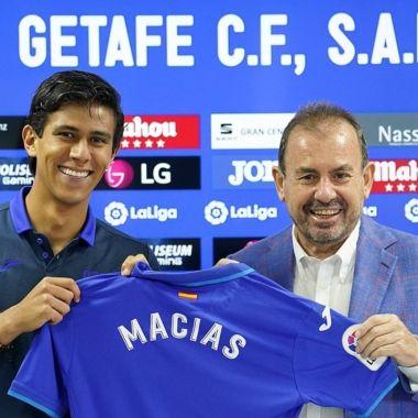 José Juan Macías presentación Getafe