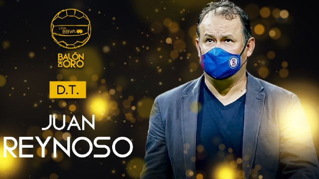 Liga BBVA MX: Juan Reynoso se lleva el Balón de Oro 2021 como mejor director técnico