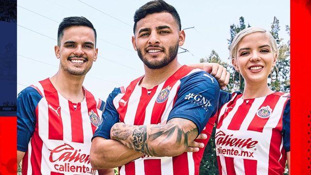 playera de chivas liga bbva mx apertura 2021