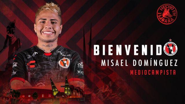 Liga BBVA MX_ Xolos anuncia de forma oficial a Misael Domínguez como nuevo refuerzo