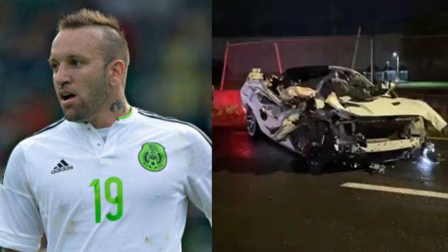 Matías Vuoso involucrado en un accidente automovilístico en Guadalajara