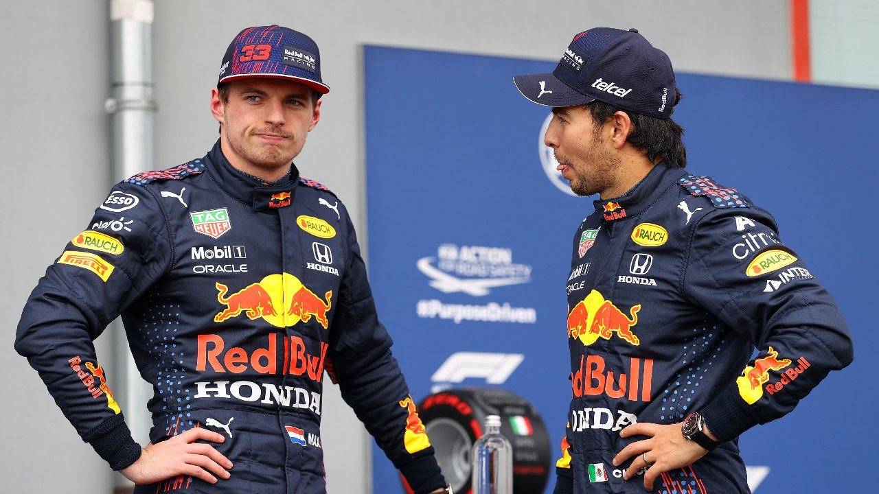 Max Verstappen Checo Pérez Fórmula 1