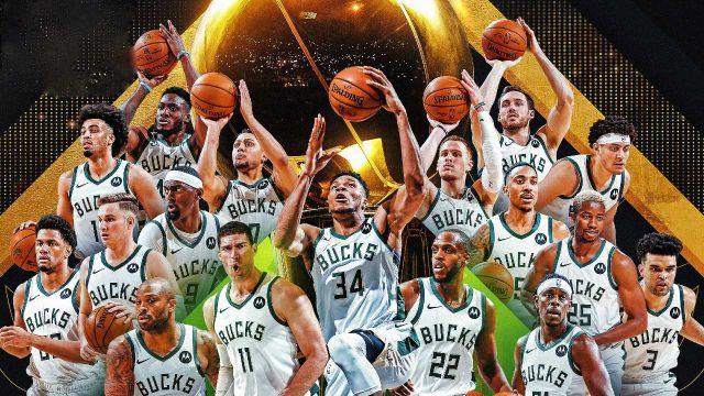 NBA 2021_ Los Milwaukee Bucks se convierten en campeones luego de derrotar a los Phoenix Suns en el juego 6