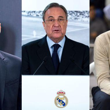 Florentino Pérez Real Madrid Casillas Raúl