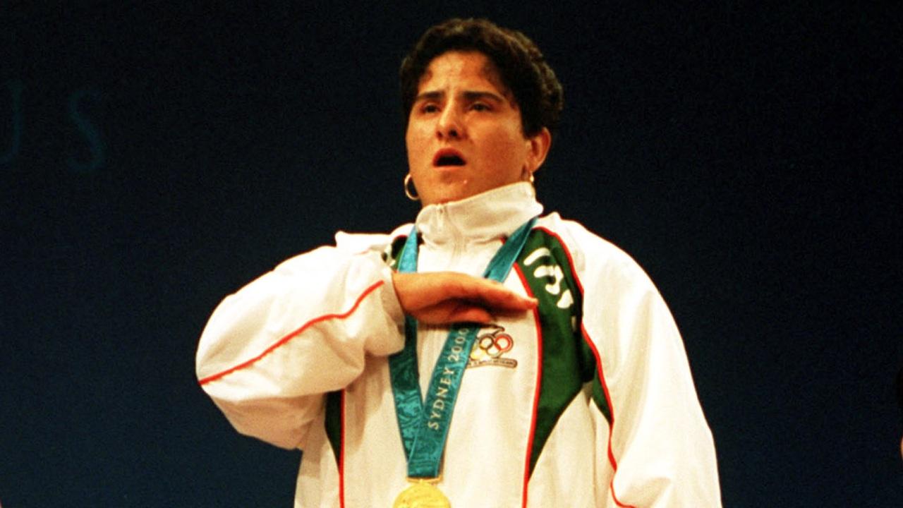 Soraya Jiménez medalla oro Sídney 2000