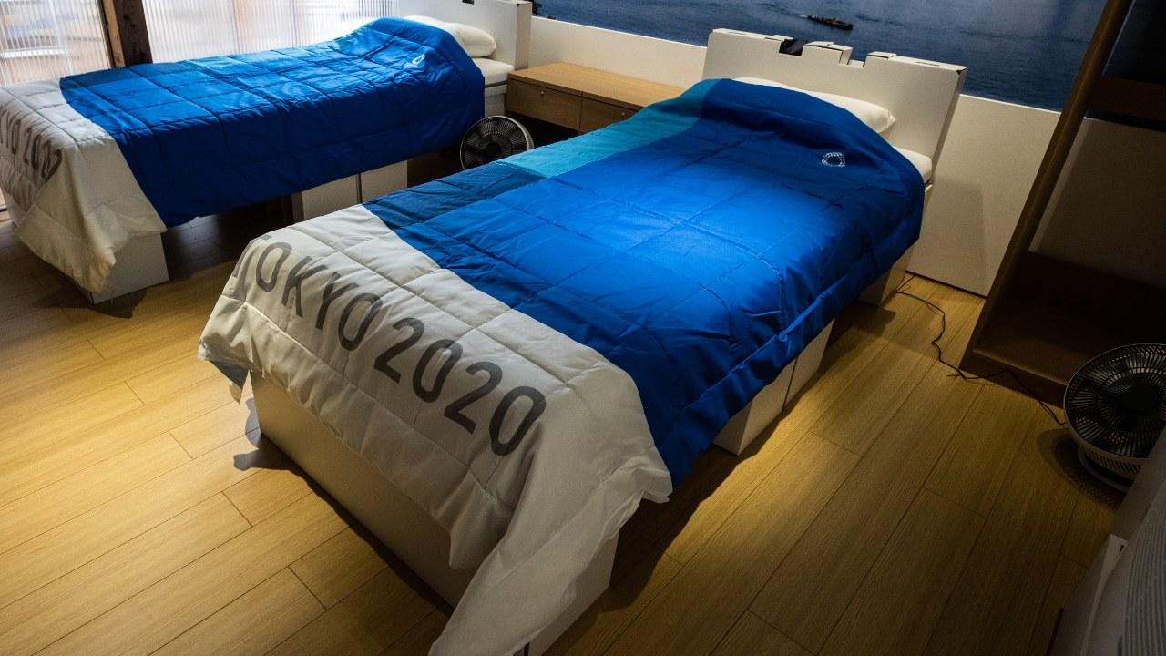 Tokyo 2020 camas Villa Olímpica