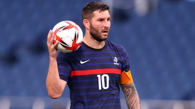 Tokyo 2020: André Pierre Gignac res goles Francia Sudáfrica