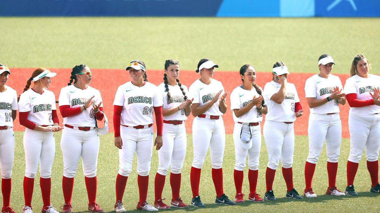 Tokyo 2020 softbol delegación mexicana mexico