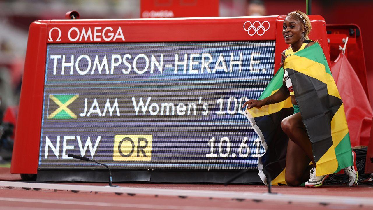 Tokyo 2020_ Elaine Thompson 100 metros planos