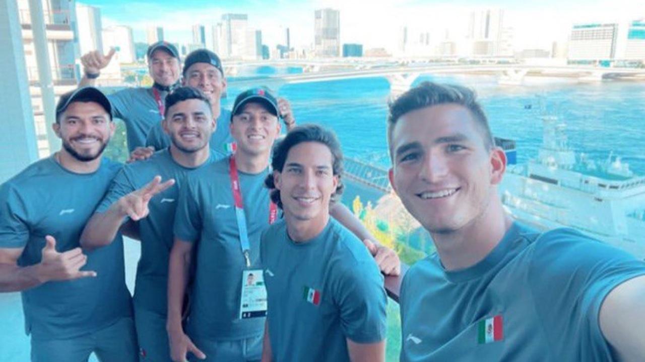 Jugadores de la Selección Mexicana tokyo 2020 juegos olímpicos