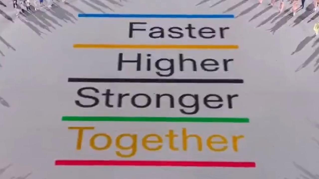 Tokyo 2020 lema olímpico juegos olimpicos