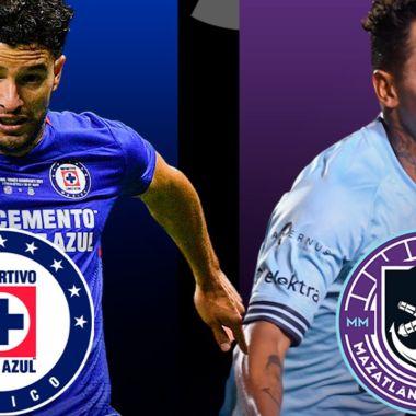 A qué hora juega el Cruz Azul vs Mazatlán liga mx