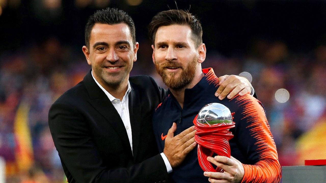 Xavi Messi continuará contrato Barcelona