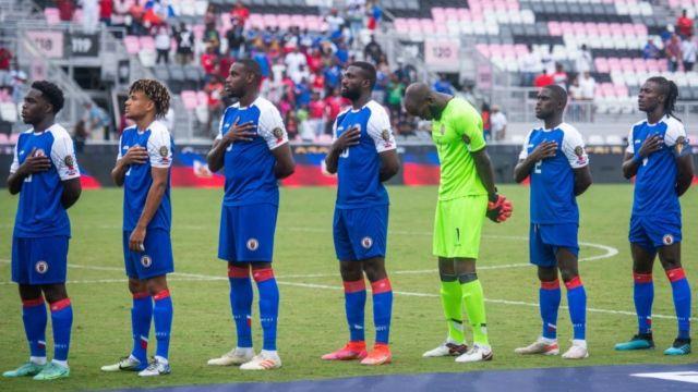 Haití brote COVID-19 Copa Oro