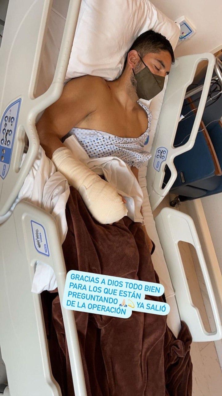 Cruz Azul: Jesús Corona fue operado con éxito de su fractura en la mano derecha