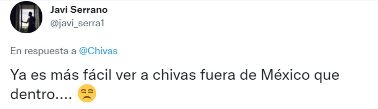 Chivas indignación aficionados Eleven