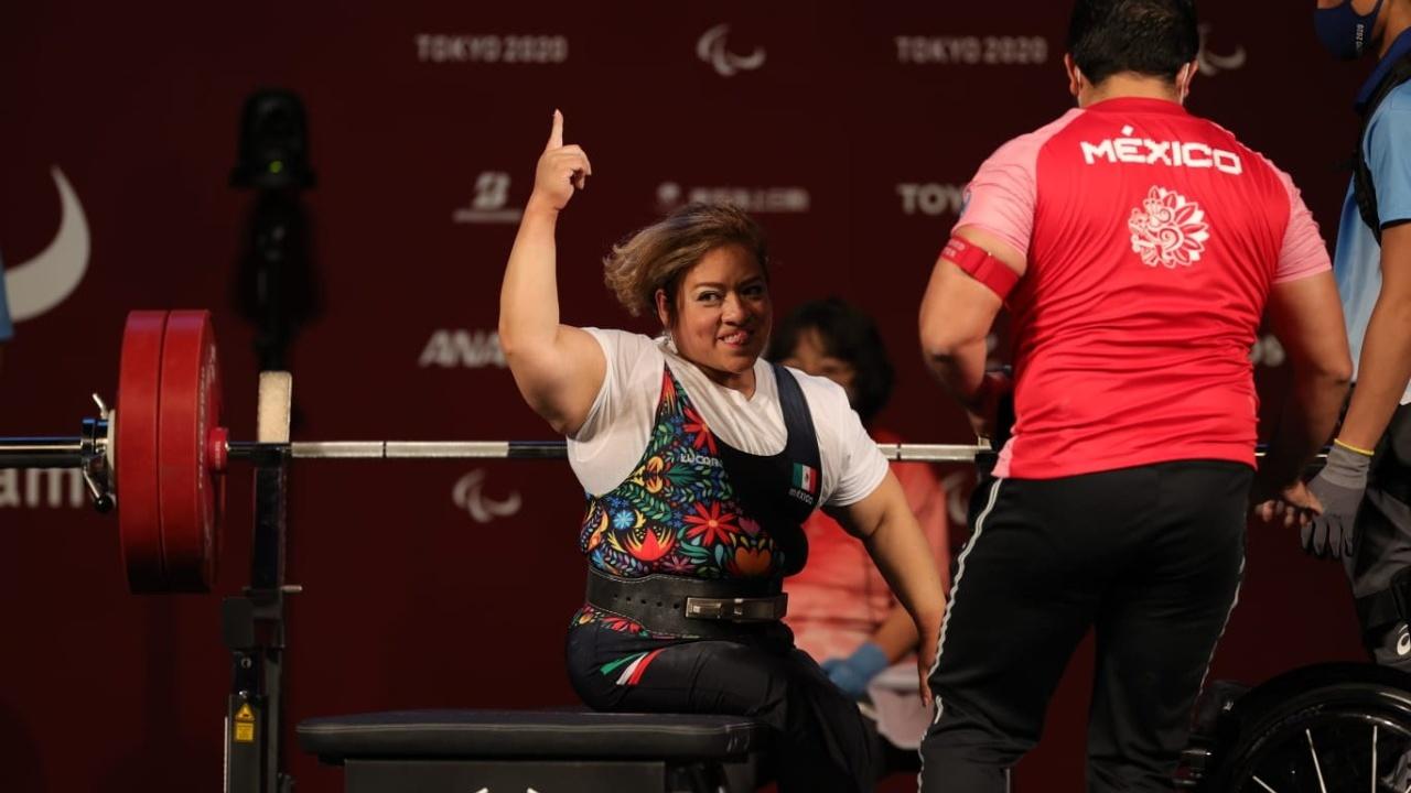Juegos Paralímpicos Tokyo 2020 amalia perez oro