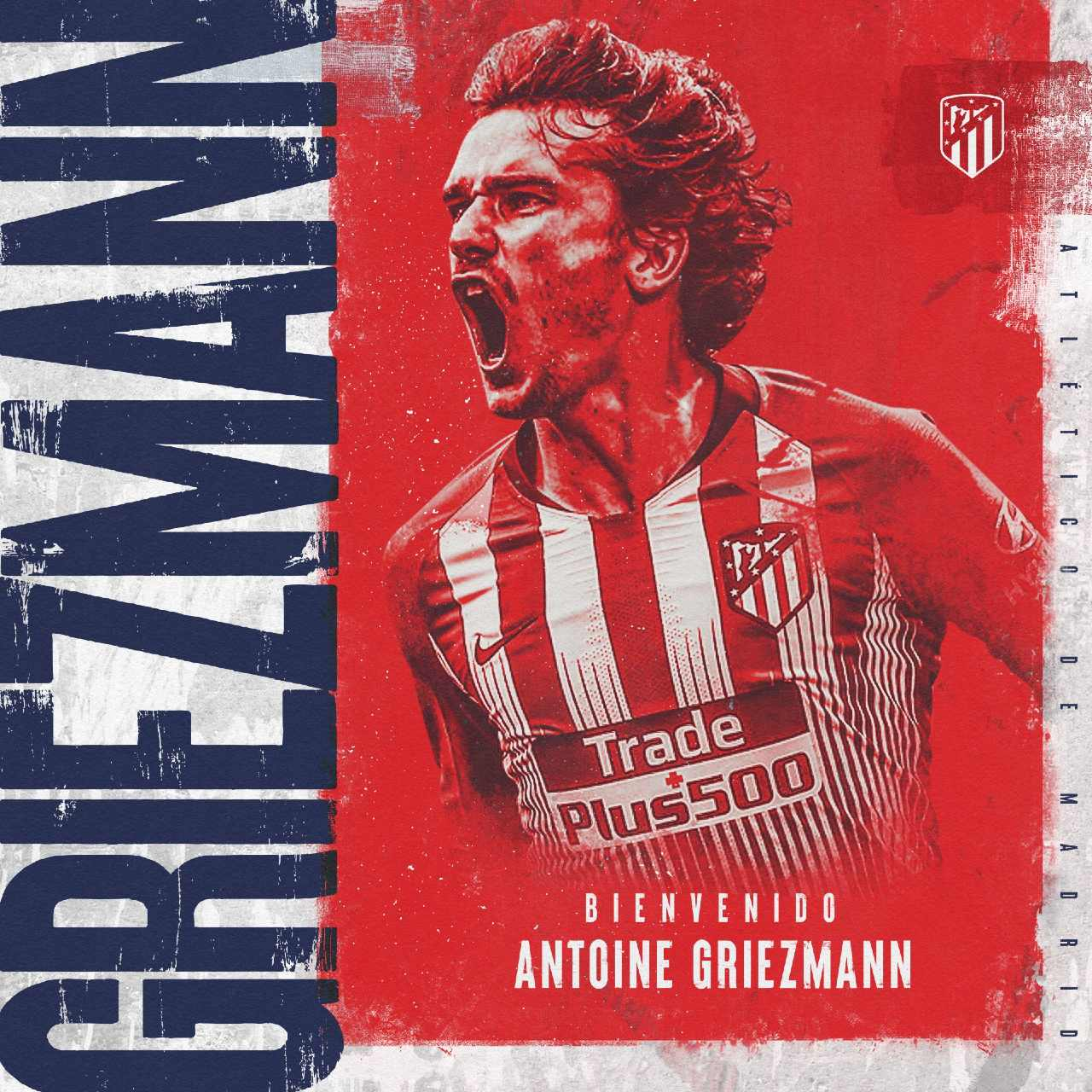 Antoine Griezmann Atlético de Madrid barcelona