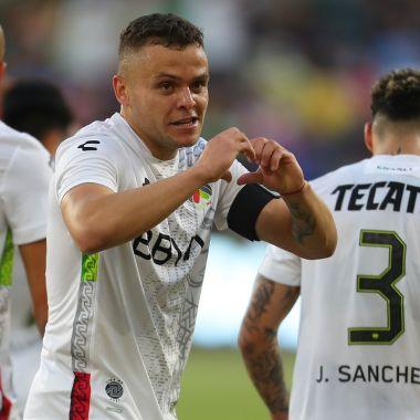 Así fue el golazo de Cabecita Rodríguez en el Juego de las Estrellas entre la Liga BBVA MX y MLS