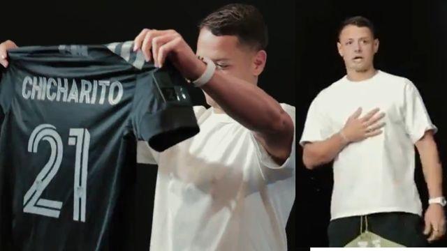 Chicharito mls all star equipo estrellas