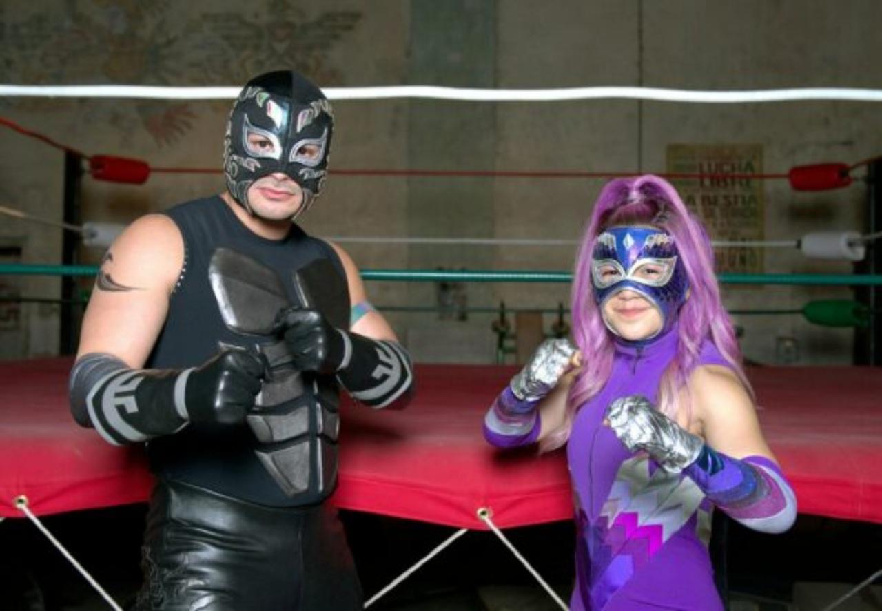 Blue Demon Jr lucha libre mexicana serie