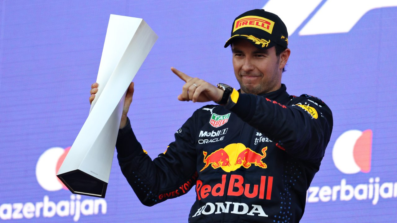 Checo Pérez Red Bull formula 1