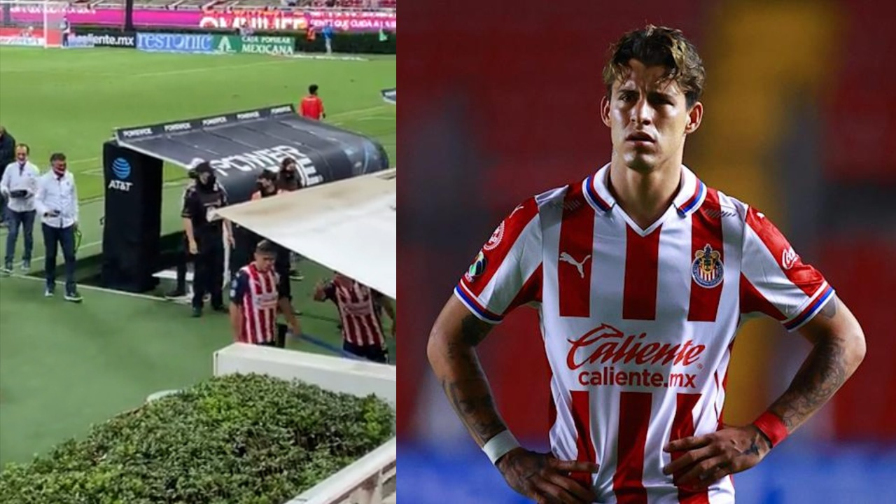 Chivas vs León chicote calderon afición insultos