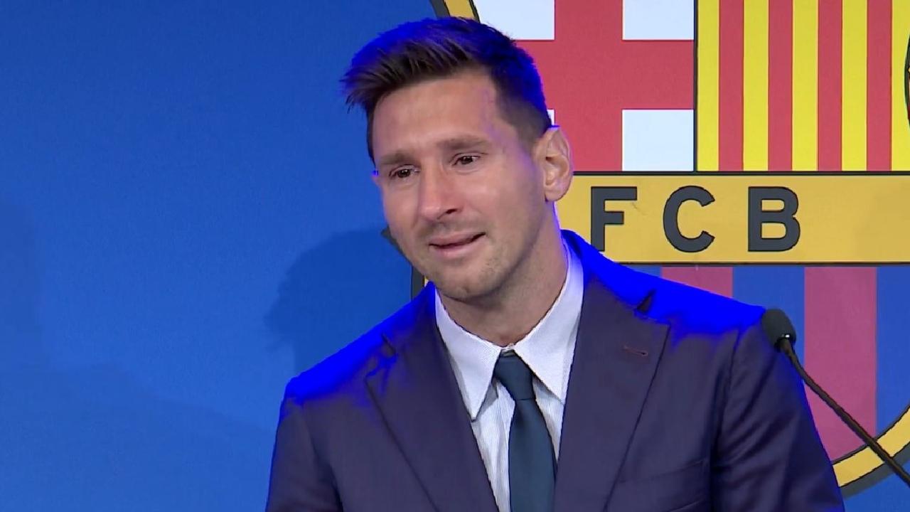 Messi conferencia Barcelona