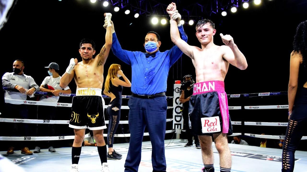 Canelo Álvarez sobrino johan boxeo